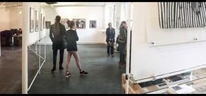 l'exposition à la Fabrique – trace de poète 2015