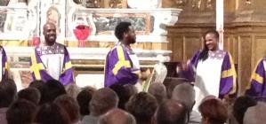 The Glory Gospel Singers.