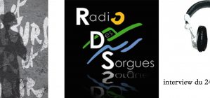 interview radio des sorgues / 24/03/2016